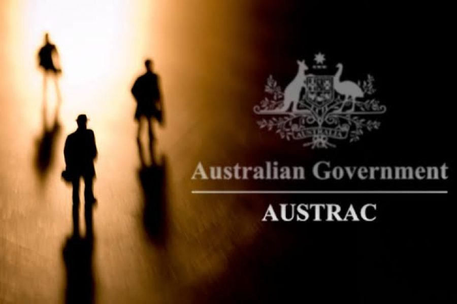 Australian authorities charge two men involved in an international money-laundering operation